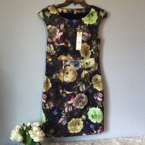 Darling size small NWT floral fitted dress